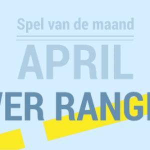 Super Power Ranger Trefbal - Spel van de Maand april