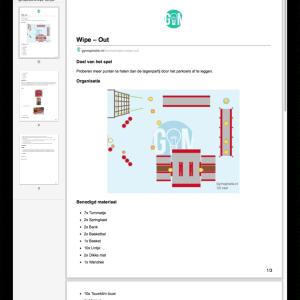 Sla spellen op je computer op als PDF