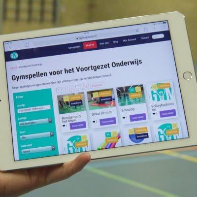 Gymspiratie VO - Onbeperkt Gymspellen voor het middelbaar onderwijs