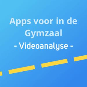 Apps voor in de gymzaal - Videoanalyse Thumbnail