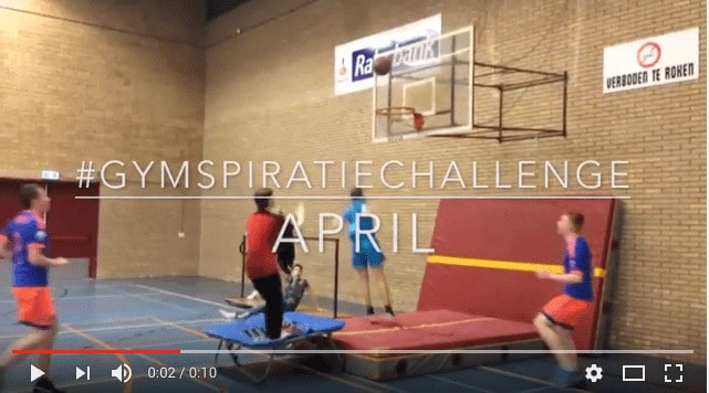 #GymspiratieChallenge April 2017