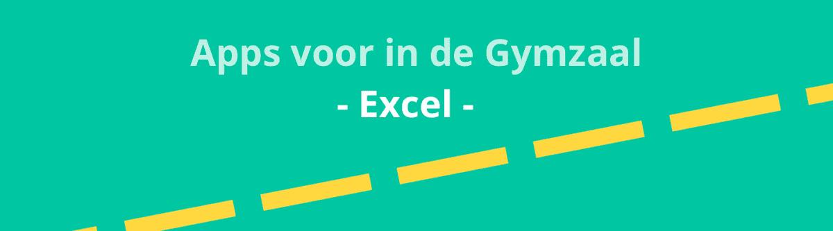 Apps voor in de gymzaal - Excel