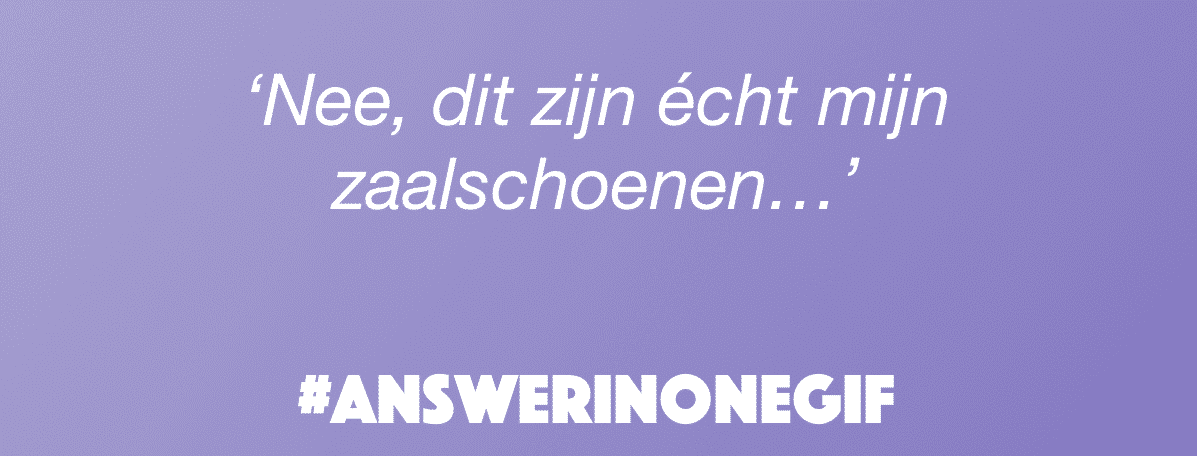 Answer in one GIF: Zaalschoenen