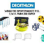 Winactie Decathlon: PO Box t.w.v. ruim 250 euro!