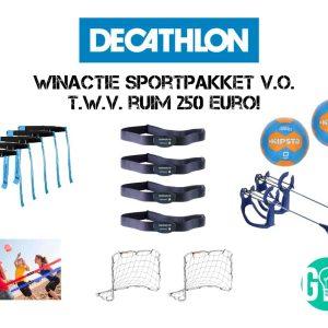 Winactie Decathlon: VO Box t.w.v. ruim 250 euro!
