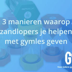 3 manieren waarop zandlopers je helpen met gymles geven