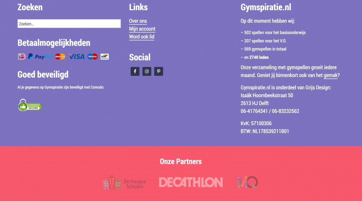 Gymspiratie Nieuw Ontwerp - Footer Oud