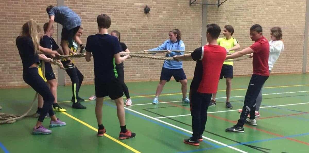 Verwonderend 55+ Coöperatieve Spelen - Samenwerken tijdens de gymles - Gymspiratie RS-34
