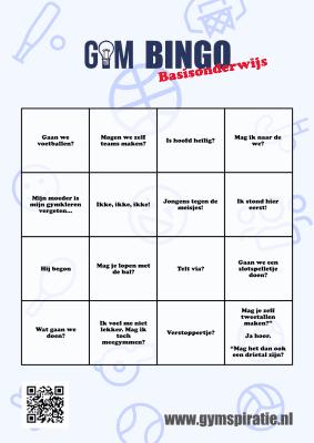 Gym Bingo PO