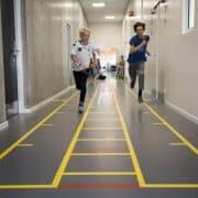 Meer bewegen op school - Rennen in de gang