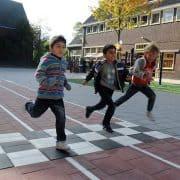 Uitdagend Schoolplein - Baan