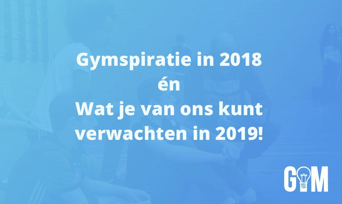 Gymspiratie Jaaroverzicht 2018