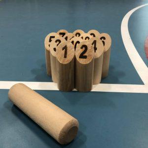 Molkky - Een vakonverstijgend werpspel, ook voor in de gymzaal