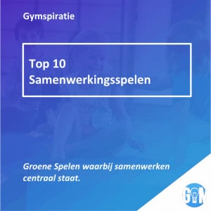 Top 10 Samenwerkingsspelen Gymspiratie e-book