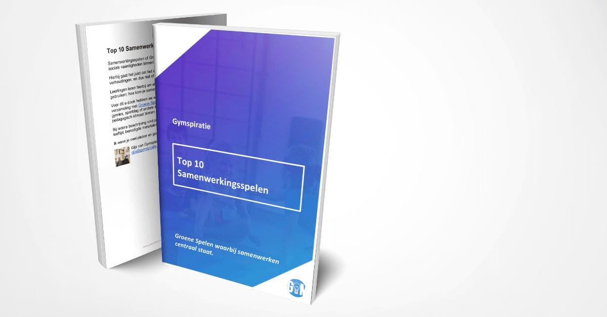 Top 10 Samenwerkingsspelen Gymspiratie (e-book)