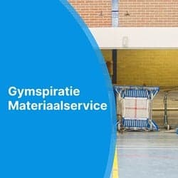 Gymspiratie Materiaalservice