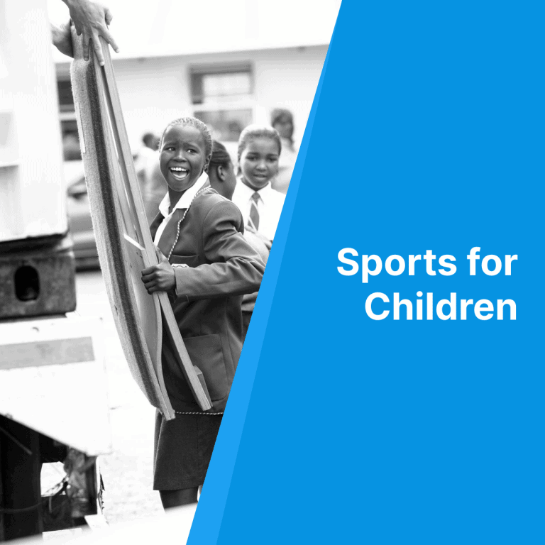 Waarom wij Sports for Children ondersteunen. Samen met jou!