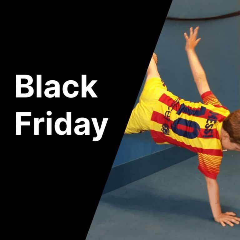 Black Friday bij Gymspiratie