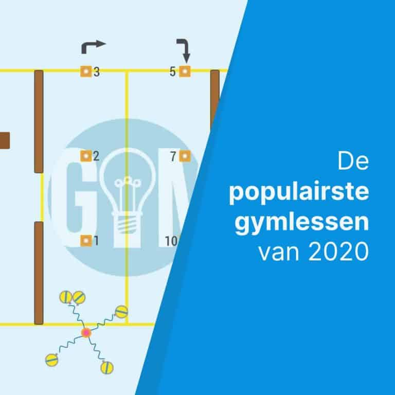 Top 5 populairste gymlessen van 2020