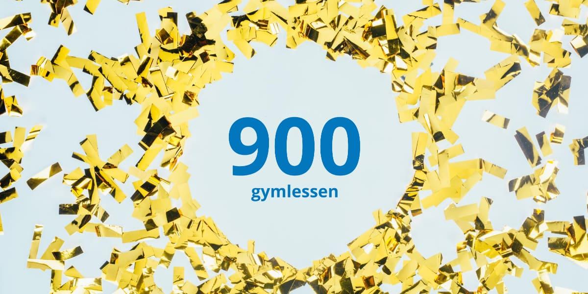 900 gymlessen online te bekijken